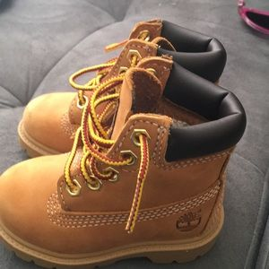 Baby water proof timberlands